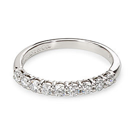 Tiffany & Co. Embrace Diamond 9 Stone Band in Platinum (1/4 CTW)