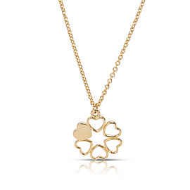 Tiffany & Co. Paloma Picasso Mini 6 Heart Pendant in 18K Yellow Gold