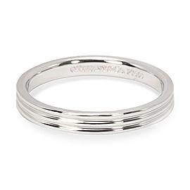 Tiffany & Co. Three Line Band in Platinum