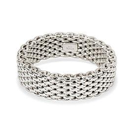 Tiffany & Co. Men's Somerset Ring in Sterling Silver (Non-Flex)