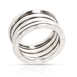 Bulgari B Zero 1 Band in 18K White Gold Size 55