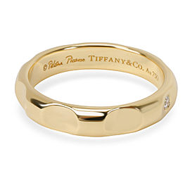 Tiffany & Co. Paloma Picasso Groove Diamond Band in 18K Yellow Gold (0.02 CTW)