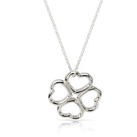 Tiffany & Co. Loving Clover Pendant in Sterling Silver