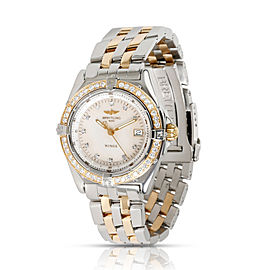 Breitling Wings D67350 Women's Watch in 18kt Stainless Steel/Yellow Gold