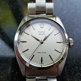 Rolex Men's Oyster Royal Precision 6426 Hand-Wind c.1963 Vintage Swiss MS165