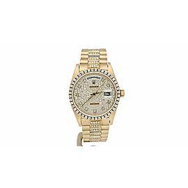 Rolex Day-Date automatic-self-wind mens Watch 18078
