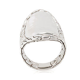 John Hardy Classic Saddle Ring in Sterling Silver