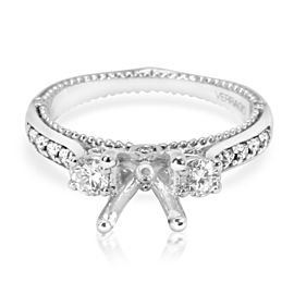 Verragio Venetian Collection Diamond Engagement Ring Setting in 18K White Gold