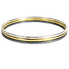 BRAND NEW Gurhan Skittle Bangle Bracelet in Sterling Silver Retails for 2125