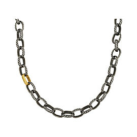 BRAND NEW Gurhan Chain Necklace in Sterling Silver MSRP 4275