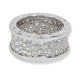 Bulgari B.zero1 Diamond Ring in 18K White Gold 2.25 CTW