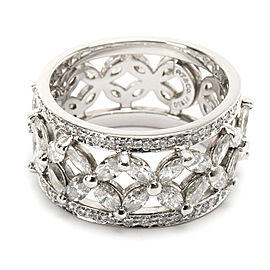 Tiffany & Co. Victoria Diamond Band in Platinum 2.12 CTW