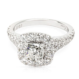 Neil Lane Diamond Diamond Engagement Ring in 14K White Gold I I1 (2 1/6 CTW)
