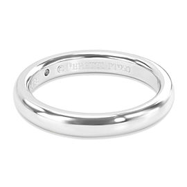 Tiffany & Co. Elsa Peretti One Diamond Band in Platinum (0.02 CTW)