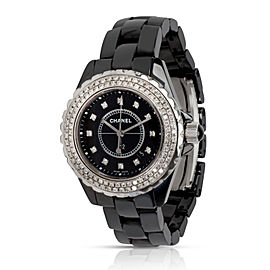 Chanel J12 Diamonds J12 Women's Watch in Ceramic