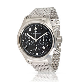 IWC Flieger Chronograph 3741 Unisex Watch in Stainless Steel