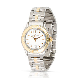Baume & Mercier Malibu MV045047 Women's Watch in 18kt Stainless Steel/Yellow Gol