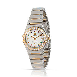 Omega Constellation 1365.79.00 Women's Watch in 18kt Stainless Steel/Yellow Gold