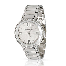 Baume & Mercier Promesse MOA10199 Women's Watch in Stainless Steel