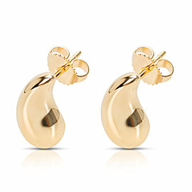 Tiffany & Co. Elsa Peretti Large Teardrop Earrings in 18KT Yellow Gold