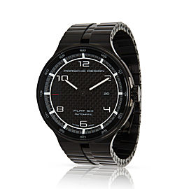 Porsche Design Flat 6 6350.43.04.0275 Men's Watch in PVD