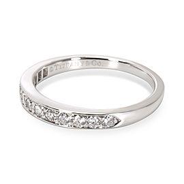 Tiffany & Co. Diamond Wedding Band in Platinum (0.25 CTW)