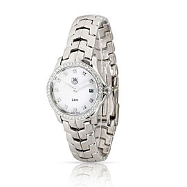 Tag Heuer Link WJF1417.BA0589 Women's Watch in Stainless Steel