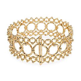 Tiffany & Co. Lace Bracelet in 18K Yellow Gold
