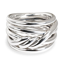 David Yurman Continuance Stacked Ring in Sterling Silver