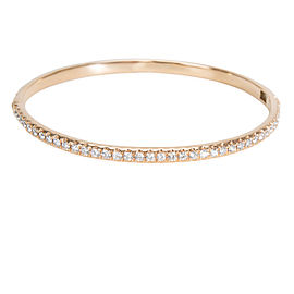 Diamond Bangle in 18K Rose Gold (2.44 CTW)