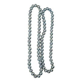 Double Strand Akoya Pearl Necklace 8.5mm