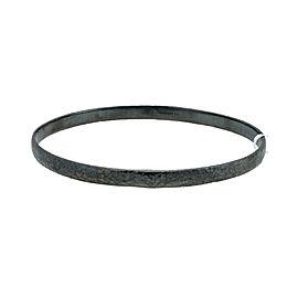BRAND NEW Gurhan Midnight Bangle Bracelet in Sterling Silver MSRP 350