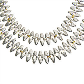 Gurhan Sunflower Necklace in Sterling Silver