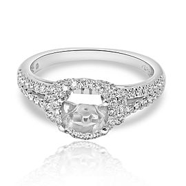 Verragio Couture Collection Diamond Engagement Ring Setting in 18K White Gold