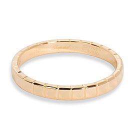Chopard Ice Cube Ring in 18K Rose Gold Cartier Size 54
