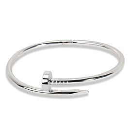 Cartier Juste Un Clou Bracelet in 18KT White Gold Size 18