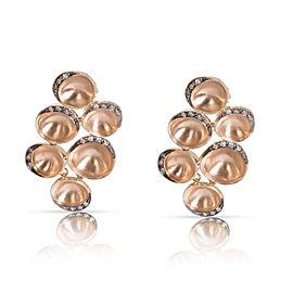 H. Stern Iris Earrings in 18K Yellow Gold 0.28 CTW