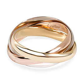 Cartier Trinity Classic Ring in 18K 3 Tone Gold