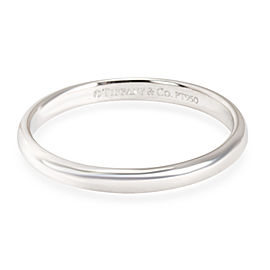Tiffany & Co. Classic Wedding Band in Platinum 2mm