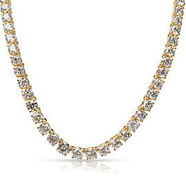 Diamond Riviera Necklace in 18K Yellow Gold (49.89 CTW)
