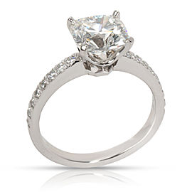 Tiffany & Co. Novo Diamond Engagement Ring in Platinum (2.05 CTW H VS1 )