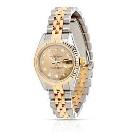 Rolex Datejust 179173 Women's Watch in 18kt Stainless Steel/Yellow Gold