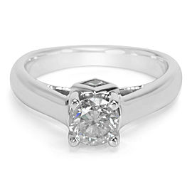 Diamond Engagement Ring in 14K White Gold (0.98 CTS)
