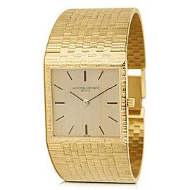 Vacheron Constantin Dress 6908 Unisex Watch in 18K Yellow Gold
