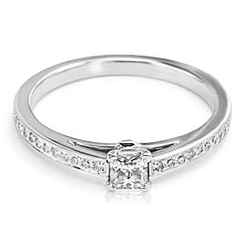 Tiffany & Co. Grace Diamond Engagement Ring in Platinum 0.30 ctw