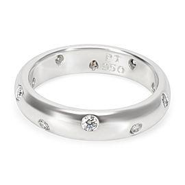 Vintage Tiffany & Co. Etoile Diamond Band in Platinum 0.25 Carats
