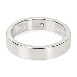 C De Cartier Diamond Wedding Band in Platinum 4mm