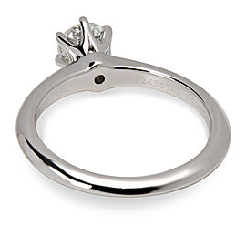 Tiffany & Co. Diamond Solitaire Ring in Platinum (0.44 CTW)
