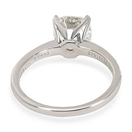Tiffany & Co. Novo Cushion Diamond Engagement Ring in Platinum (2.17 CTW G/VVS2)