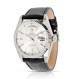 Rolex Day-Date 18039 Men's Watch in 18kt White Gold